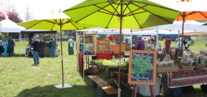 Orcas Island Farmer's Market photo courtesy of visitsanjuans.com